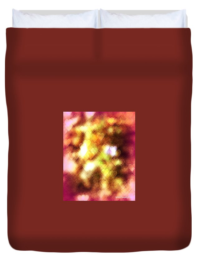 Valentines Day Duvet Cover featuring the photograph Be My Valentine by Roe Rader