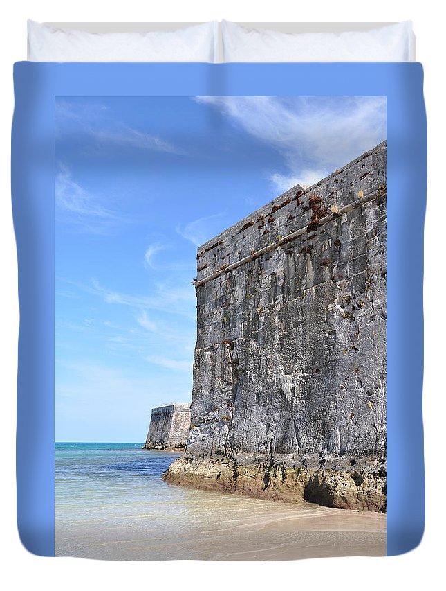 Bermuda Duvet Cover featuring the photograph Beautiful Bermuda by Laura Lowrey
