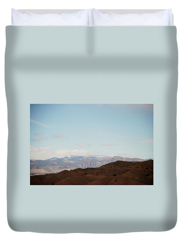 Desert Duvet Cover featuring the photograph Beautiful New Mexico by Rob Hans