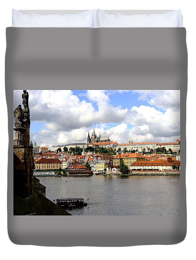 Prague Duvet Cover featuring the photograph Beautiful Prague by Ira Shander