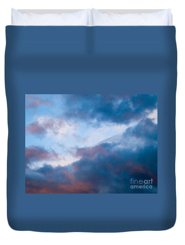 Sky Duvet Cover featuring the photograph Beautiful Sky by Tara Lynn
