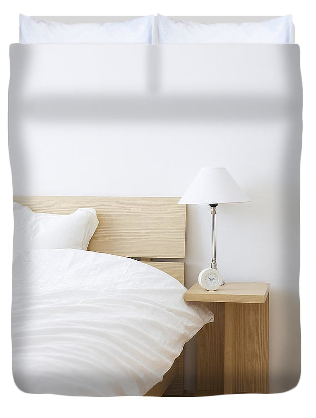 Japan Duvet Cover featuring the photograph Bed Room by Imagenavi