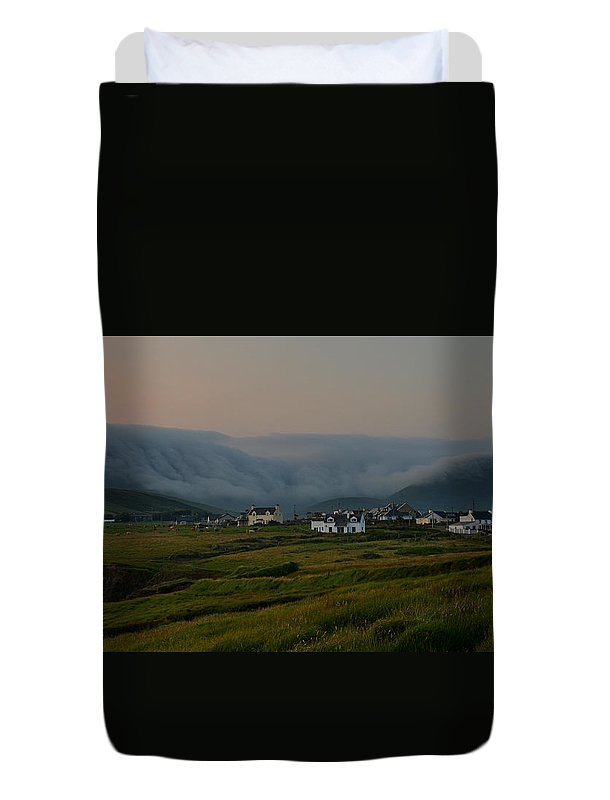 Beenbawn Duvet Cover featuring the photograph Beenbawn by Barbara Walsh