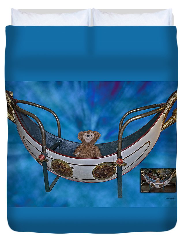 Fantasy Duvet Cover featuring the photograph Before And After Sample Art 22 by Thomas Woolworth
