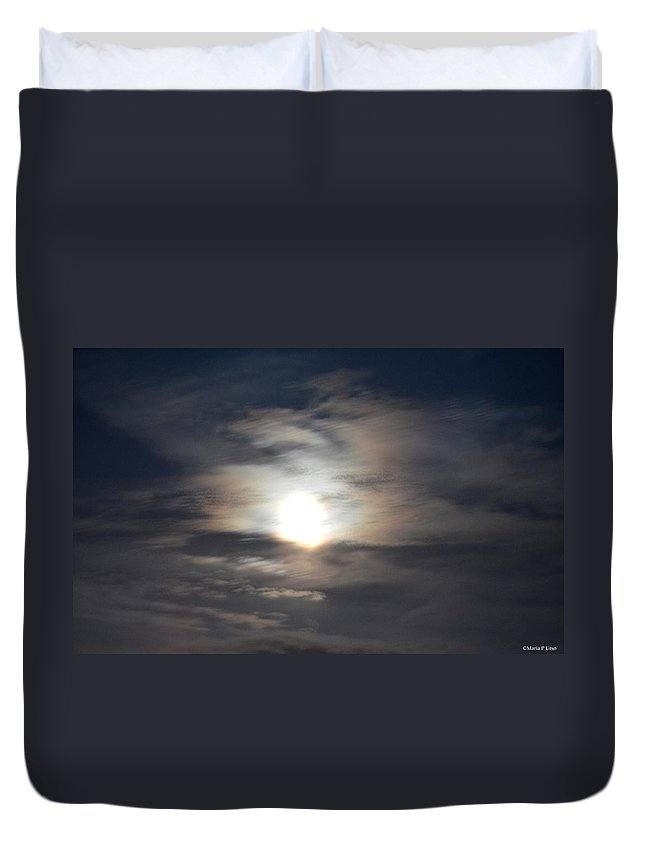 Before The Dawn Duvet Cover featuring the photograph Before The Dawn by Maria Urso