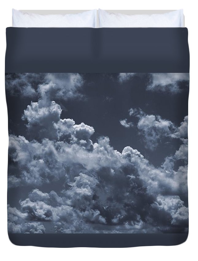 Cumulonimbus And Tree Duvet Cover featuring the photograph Before The Storm by Dan Sproul