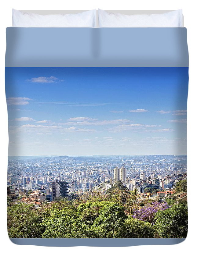 Tranquility Duvet Cover featuring the photograph Belo Horizonte by Antonello