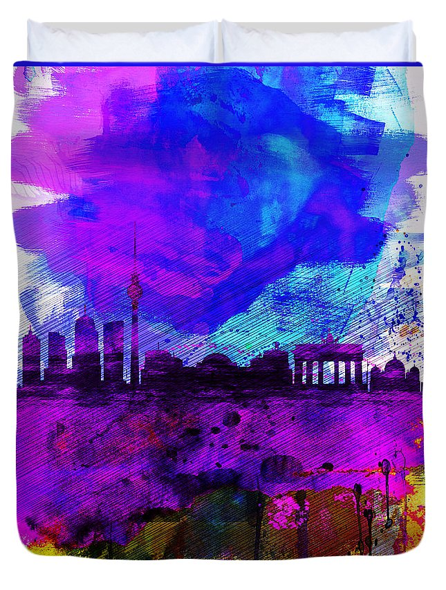 Designs Similar to Berlin Watercolor Skyline