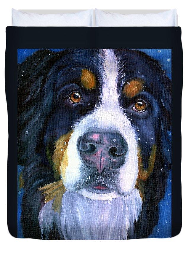 Bernese Mountain Dog  Duvet Covers