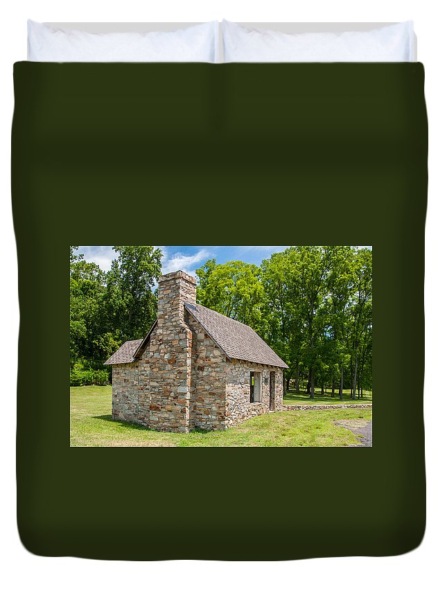 Guy Whiteley Photography Duvet Cover featuring the photograph Beverly Mill Store by Guy Whiteley