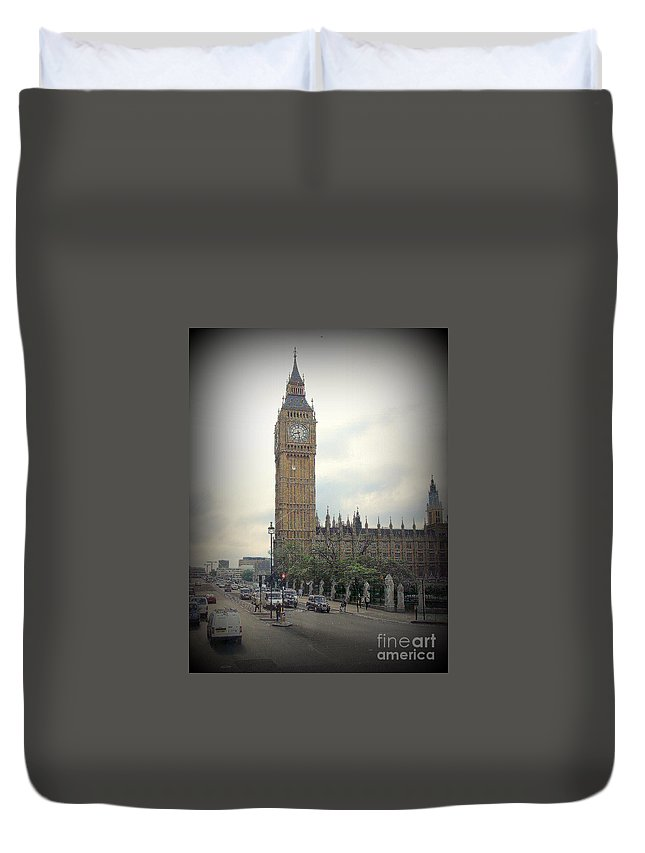 Big Duvet Cover featuring the photograph Big Ben II by Priscilla Richardson