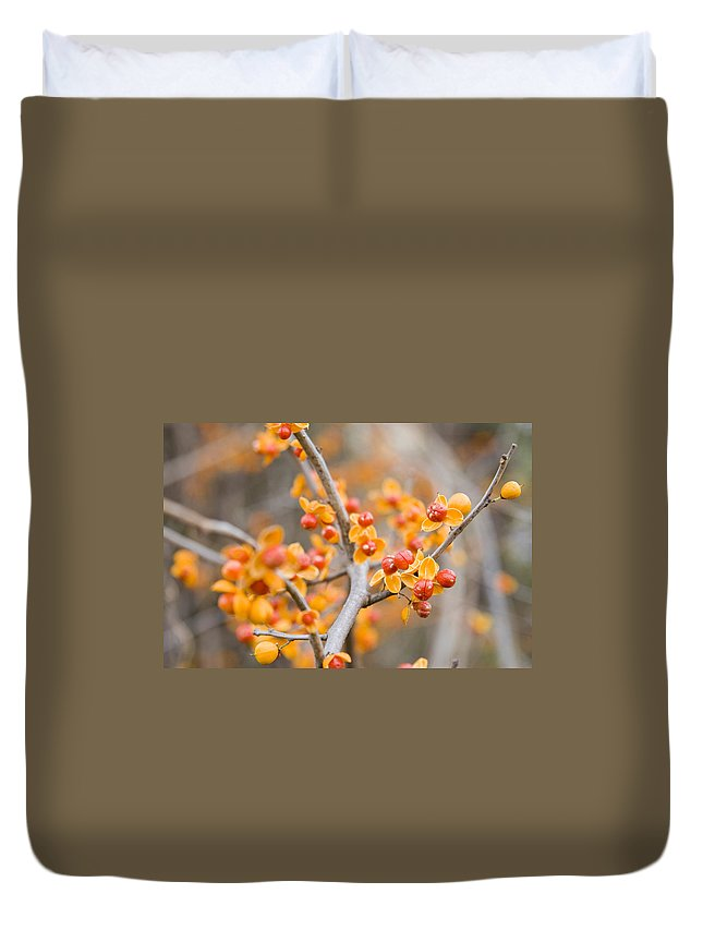 Bittersweet Duvet Cover featuring the photograph Bittersweet by Alexey Stiop