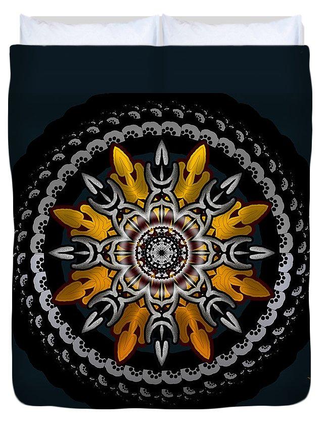 Black Duvet Cover featuring the digital art Black Velvet by Robert Orinski