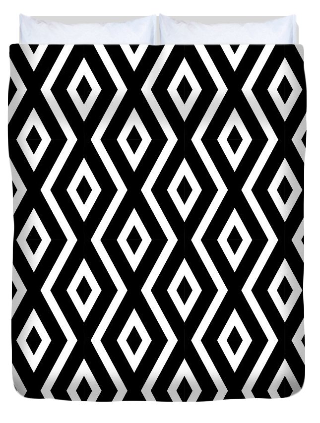Black And White Art Duvet Covers
