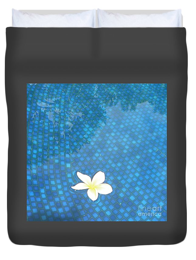 Hawaii Duvet Cover featuring the photograph Blue Hawaii by Dona Dugay