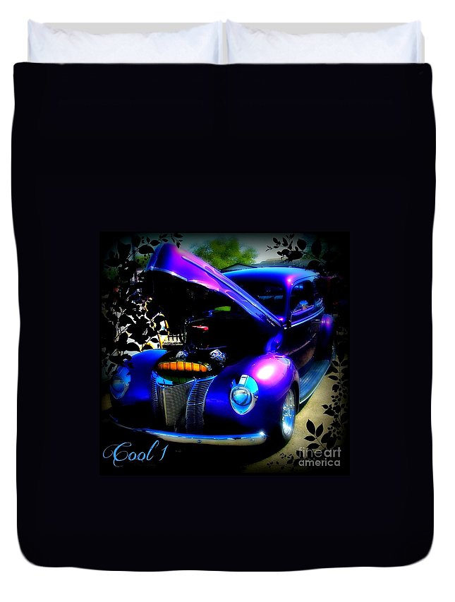 Acrylic Prints Duvet Cover featuring the photograph Blue Jewel Art by Bobbee Rickard