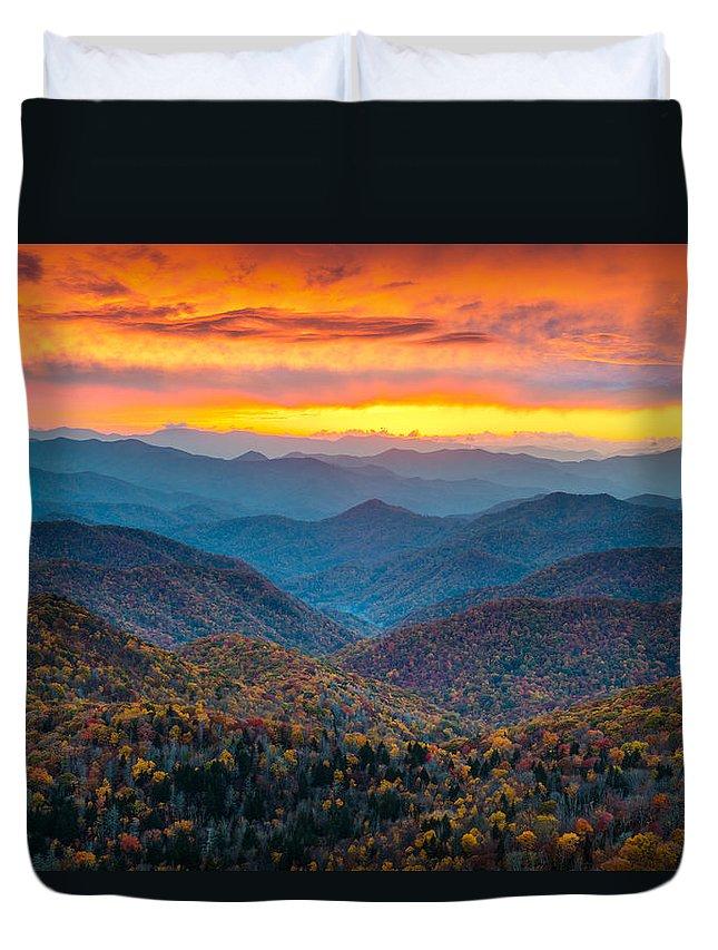 Mountain Sunset Duvet Covers