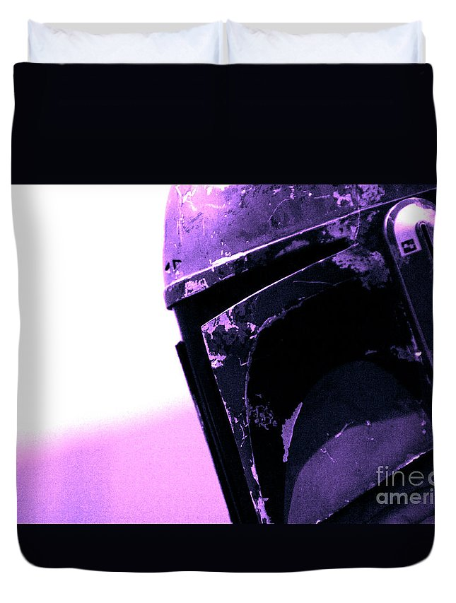 Boba Duvet Cover featuring the photograph Boba Fett 23 by Micah May