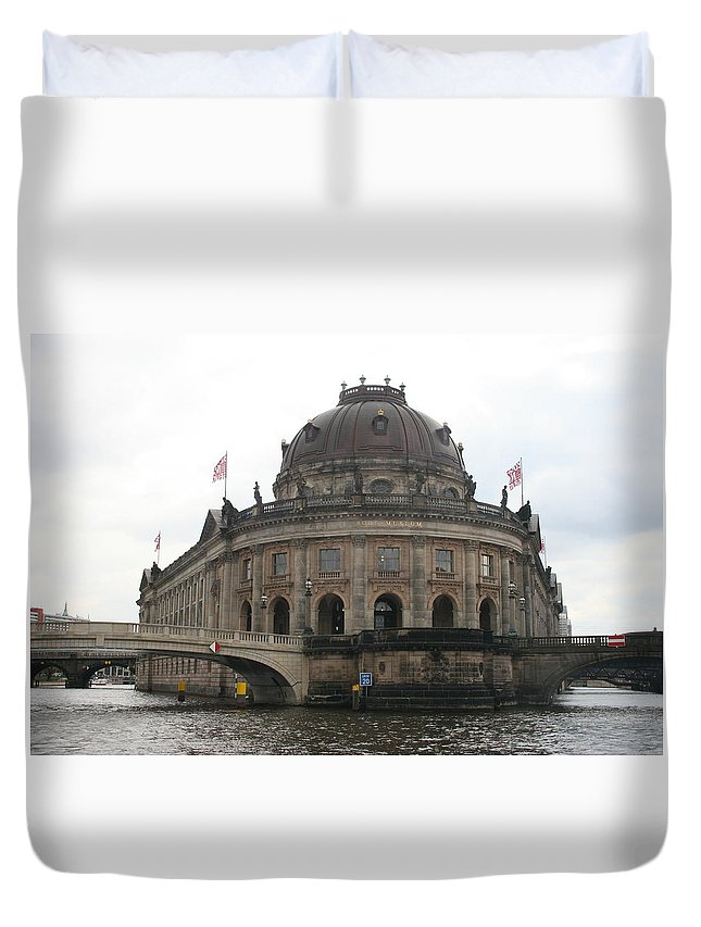 Museum Duvet Cover featuring the photograph Bode Museum - Berlin - Germany by Christiane Schulze Art And Photography