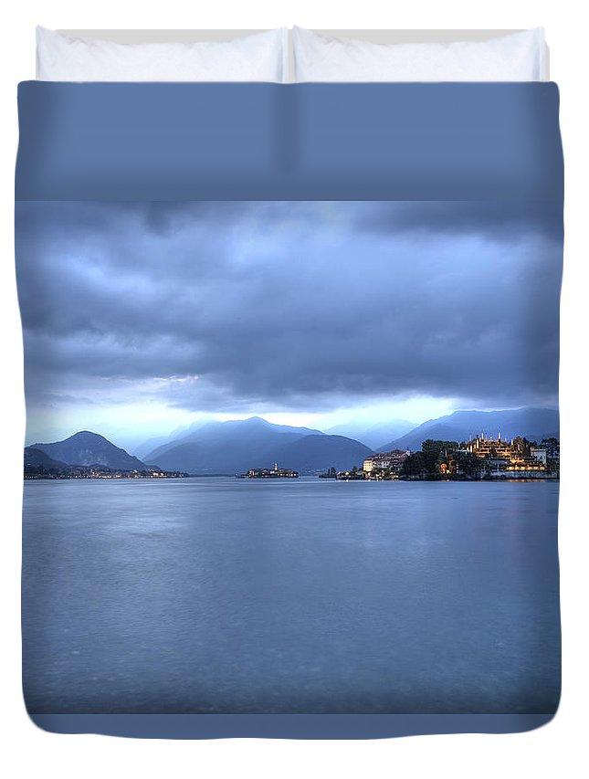 Isola Bella Duvet Cover featuring the photograph Borromean Islands by Joana Kruse