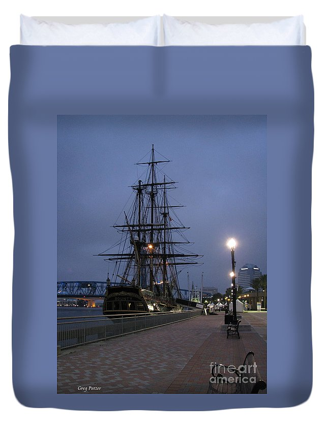 Patzer Duvet Cover featuring the photograph Bounty by Greg Patzer