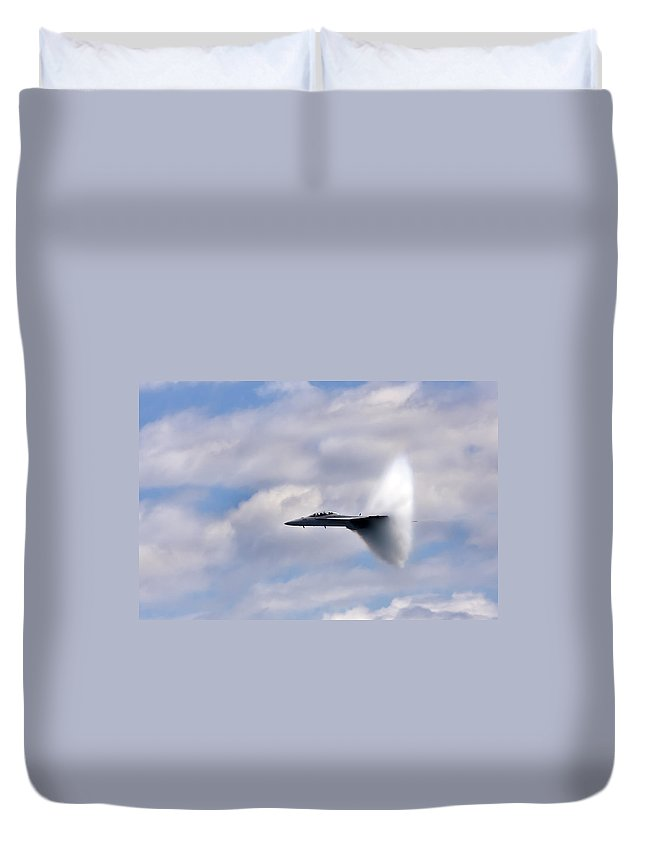 3scape Photos Duvet Cover featuring the photograph Breaking Through by Adam Romanowicz
