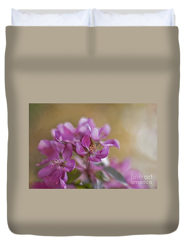 Cherry Duvet Cover featuring the photograph Breath Of Spring by Maria Ismanah Schulze-Vorberg