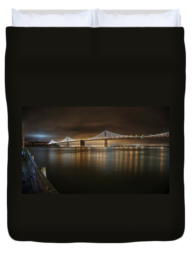 California Duvet Cover featuring the photograph Bronze And Gold by Peter Thoeny