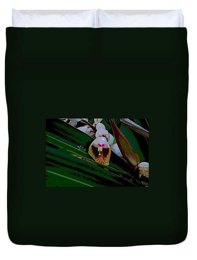 Blossom Duvet Cover featuring the photograph Bug Fx by Joseph Yarbrough