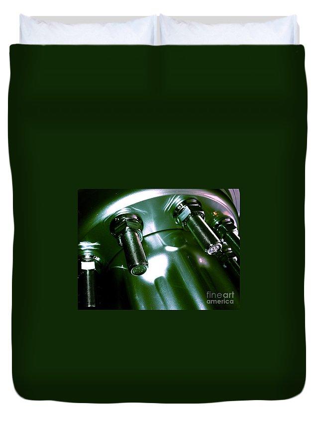 Jamie Lynn Gabrich Duvet Cover featuring the photograph Bults Green by Jamie Lynn
