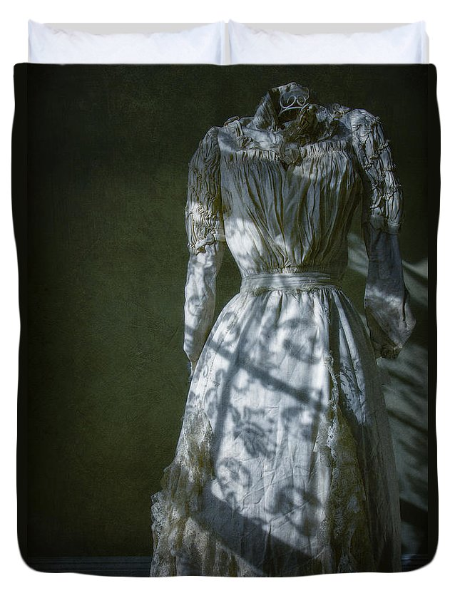 Antique Duvet Cover featuring the photograph By Moonlight by Margie Hurwich