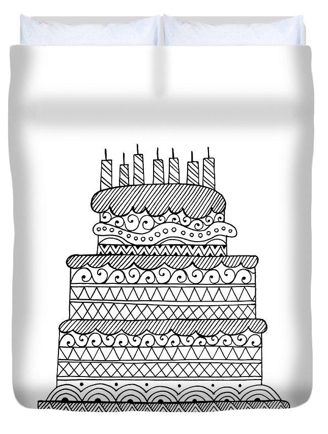 Wedding Cake Duvet Covers