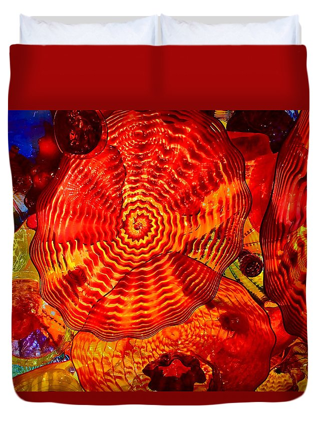 Caliope Duvet Cover featuring the photograph Caliope by William Rockwell