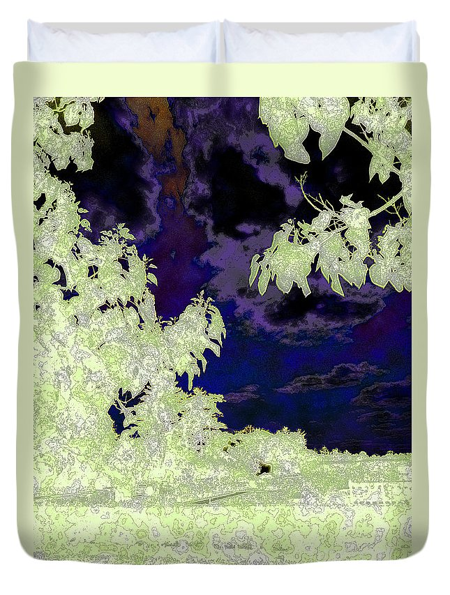Diane Dimarco Art Duvet Cover featuring the photograph Call It A Day 3 by Diane DiMarco