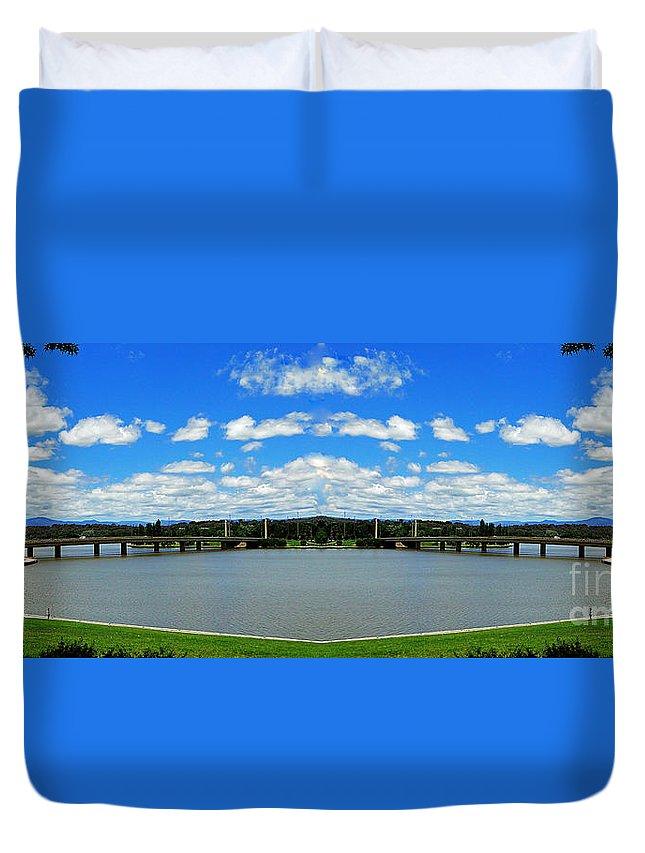 Australia Duvet Cover featuring the photograph Canberra 9 by Ben Yassa