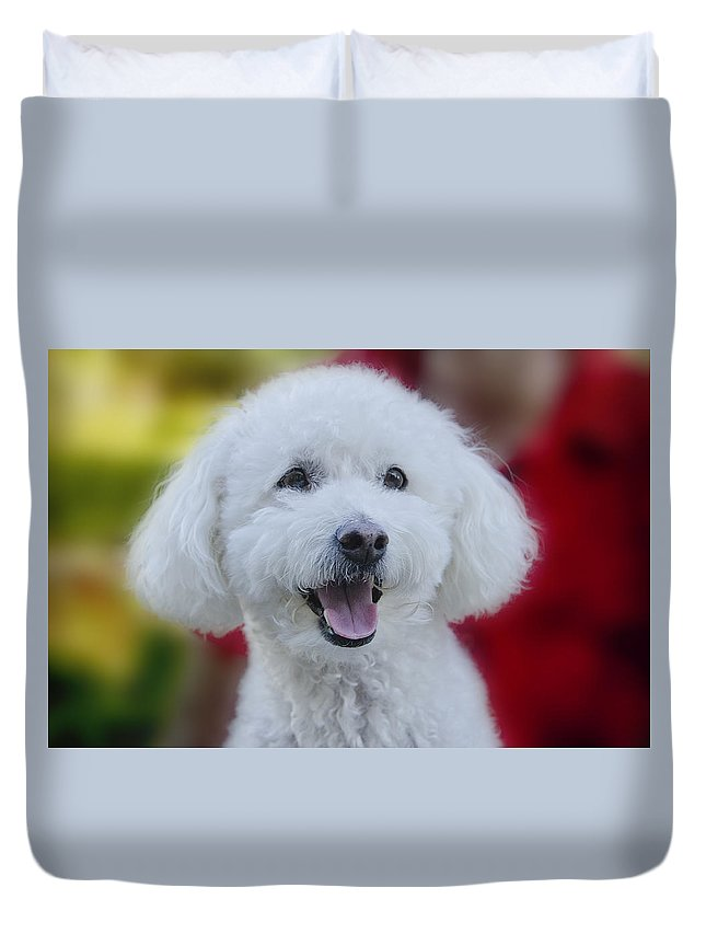 Carson Duvet Cover featuring the photograph Carson by Claude LeTien