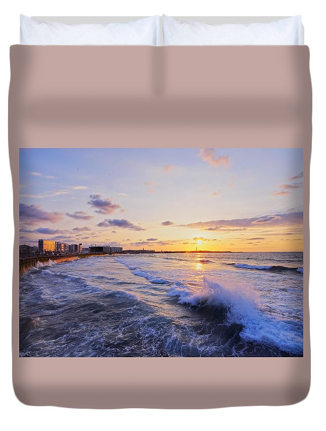 Africa Duvet Cover featuring the photograph Casablanca by Karol Kozlowski