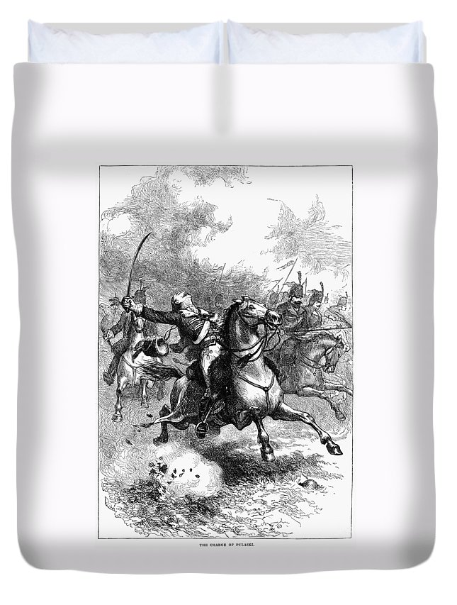1779 Duvet Cover featuring the photograph Casimir Pulaski (1748-1779) by Granger