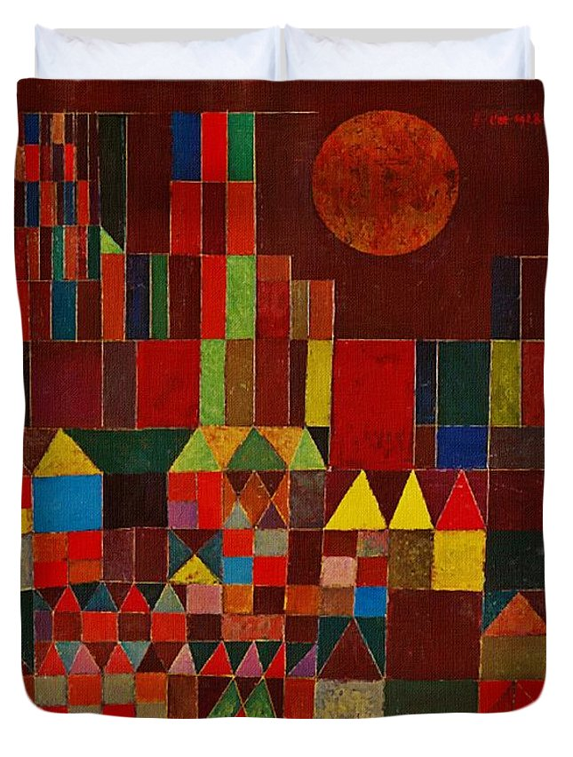 Castle And Sun Duvet Cover For Sale By Paul Klee