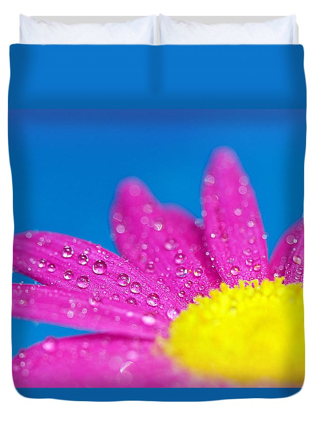 Water Duvet Cover featuring the photograph Celebration A Cacophony Of Colour by Lisa Knechtel
