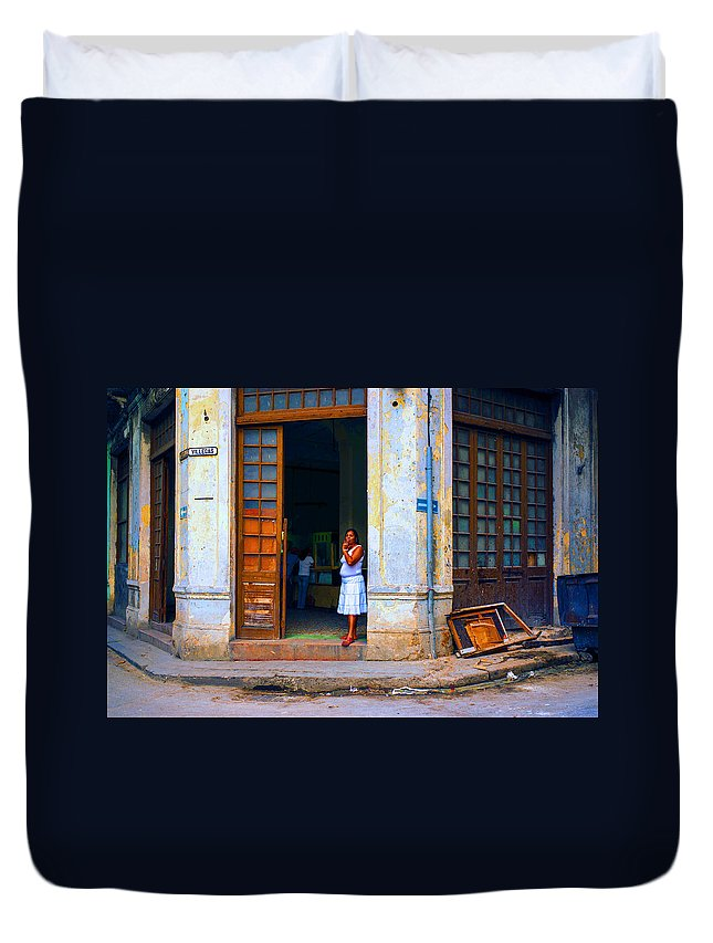 Duvet Cover featuring the photograph Challenge 15 Number 6 by Rory Sagner