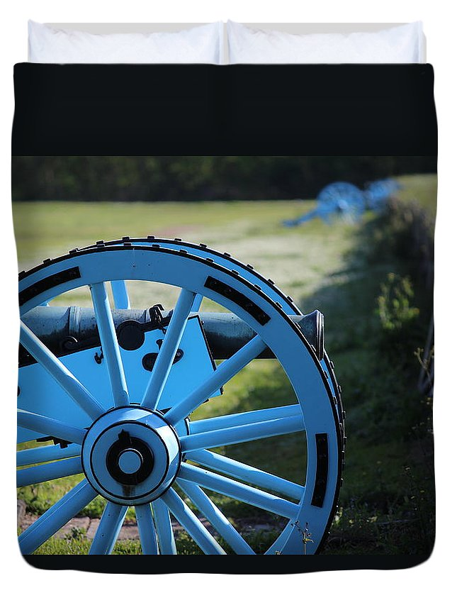 Chalmette Battlefield Duvet Cover featuring the photograph Chalmette Battlefield by Beth Vincent