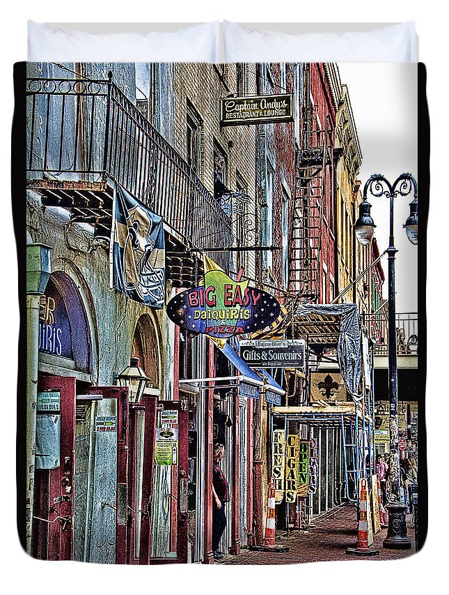 Characteristics Duvet Cover featuring the photograph Characteristics Of New Orleans V2 by Douglas Barnard