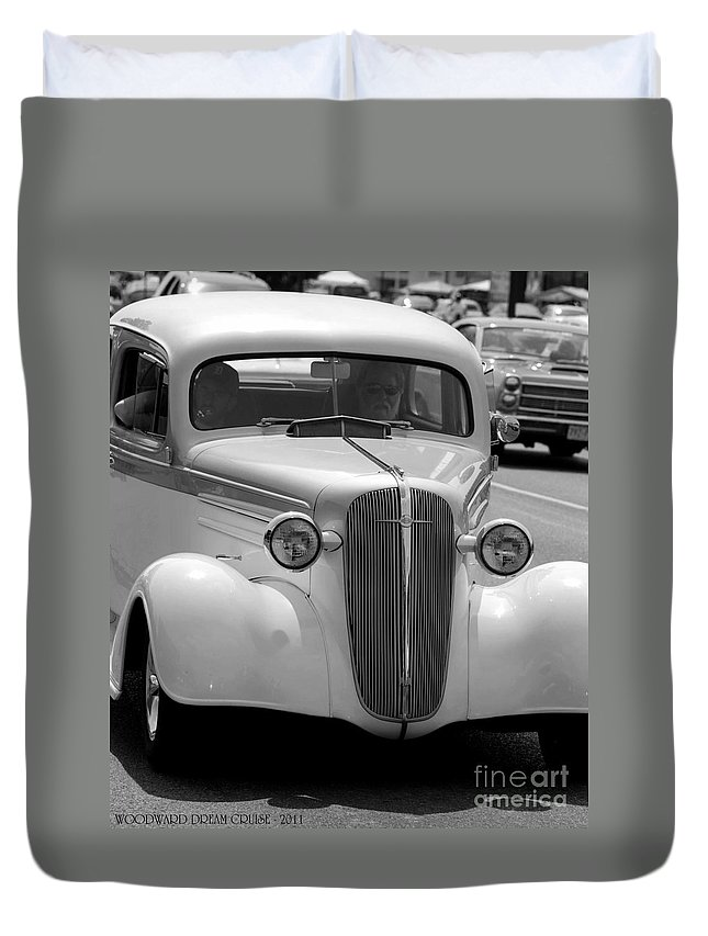 Duvet Cover featuring the photograph Chevy by Optical Playground By MP Ray