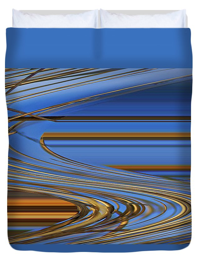 Chocolate Duvet Cover featuring the digital art Chocolate by Carol Lynch