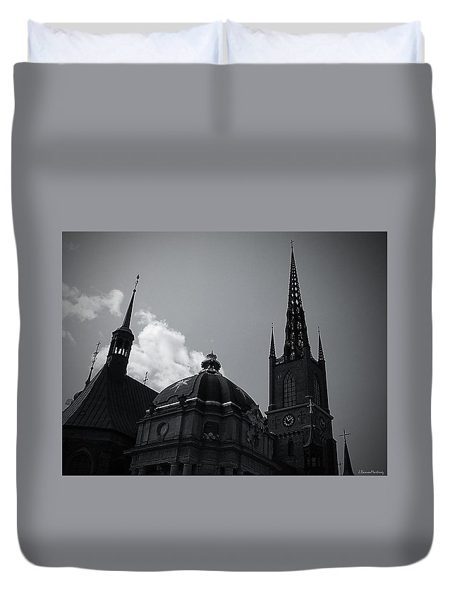 Stockholm Duvet Cover featuring the photograph Church I by Ramon Martinez