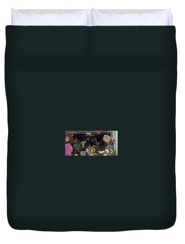 Church Duvet Cover featuring the photograph Church In Nigeria by Amy Hosp