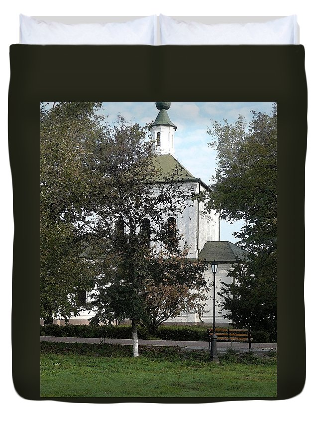 Church Duvet Cover featuring the photograph Church by Nicki Bennett