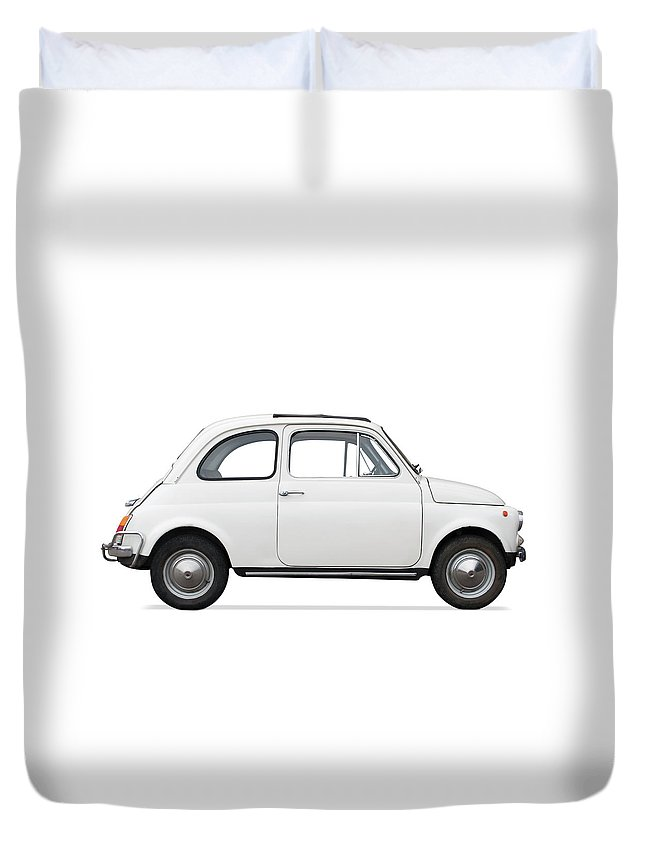 1950-1959 Duvet Cover featuring the photograph Classic Car by Lalocracio