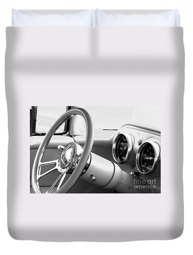 Dash Board Duvet Cover featuring the photograph Classic Dash by Optical Playground By MP Ray